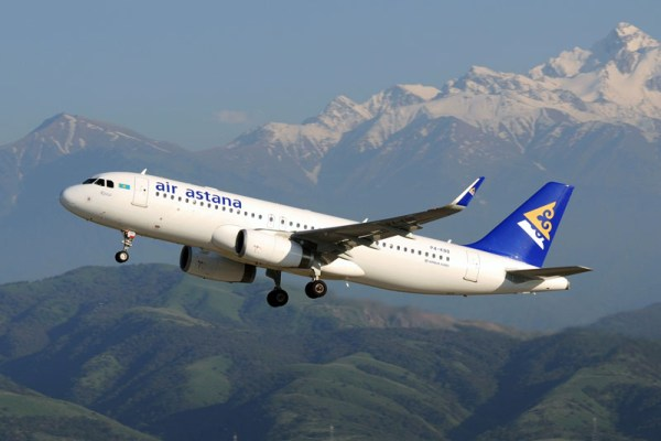 Air Astana Airbus A320-200 (© Air Astana)