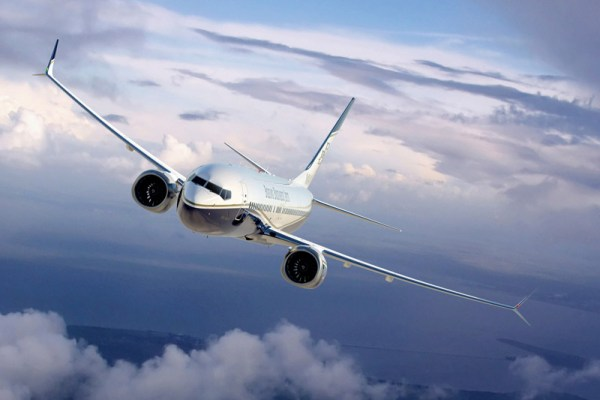 Boeing BBJ 737 MAX 8 (© Boeing)