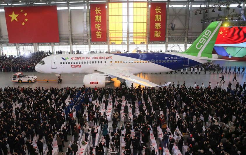 China feiert neuen Jet COMAC C919 - European-Aviation.net