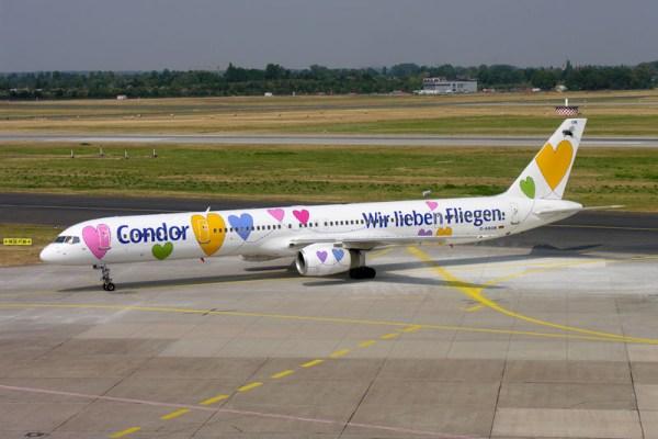Condor Boeing 757-300 in Sonderbemalung (© O. Pritzkow)
