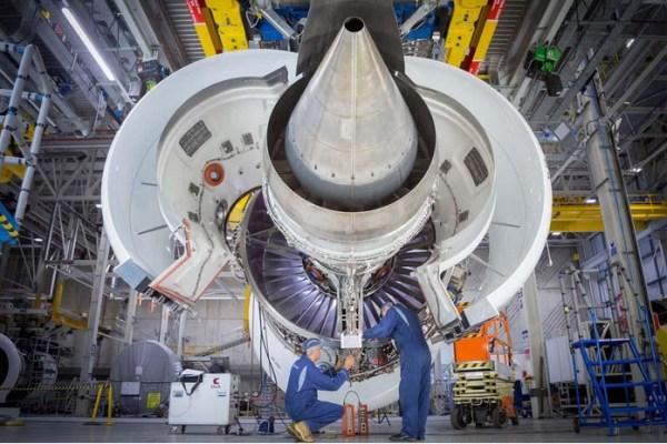 Trent 7000 Demonstrator-Triebwerk (© Rolls-Royce)