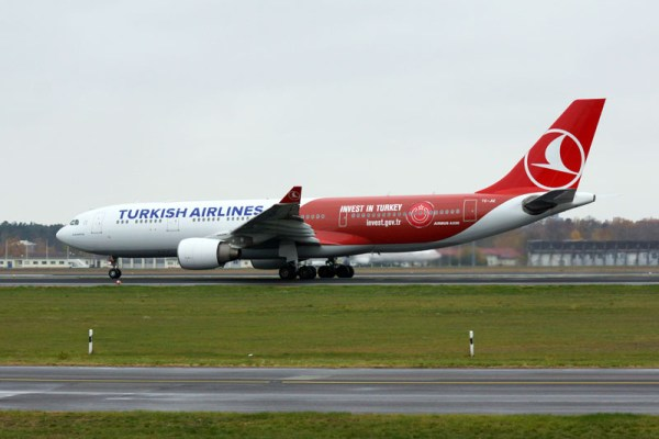 Turkish Airlines Airbus A330-200 'Invest in Turkey' (© O. Pritzkow)