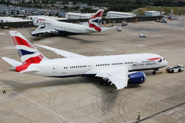 British Airways Boeing 787-9 (© BA)