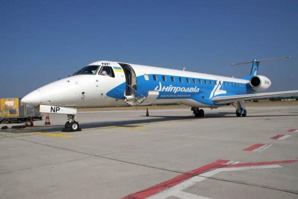 Dniproavia Embraer 145 (© O. Pritzkow)