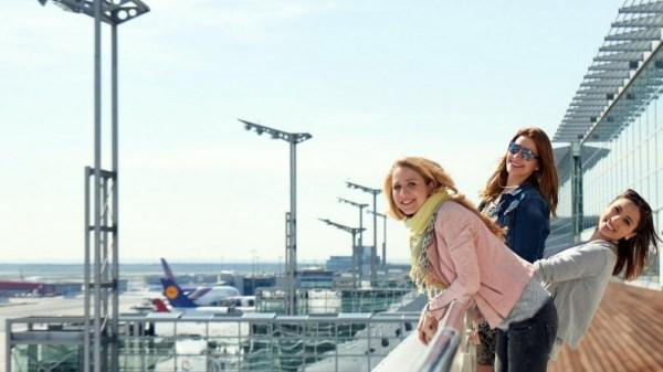 Aussichtsterrasse am Frankfurter Flughafen (© Fraport)