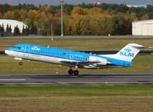 Fokker 70 der KLM cityhopper (© O. Pritzkow)