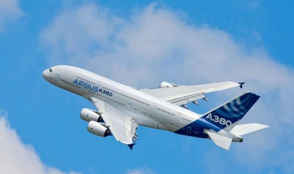 Airbus A380 im Flug (© Airbus)