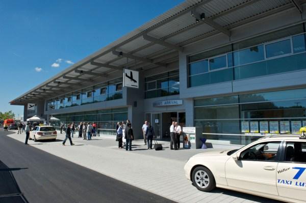 Terminal Bodensee Airport Friedrichshafen (© FDH)