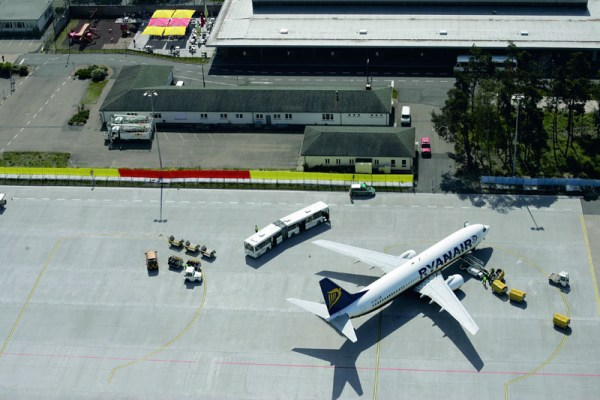 Ryanair am Flughafen Karlsruhe Baden-Baden (© Baden Airpark)