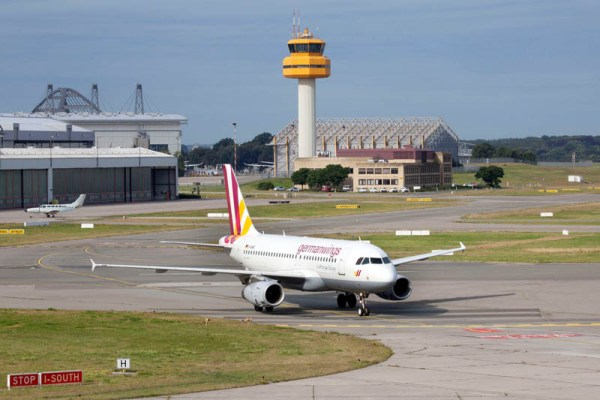 Germanwings am Hamburger Flughafen (© HAM Airport, M. Penner)