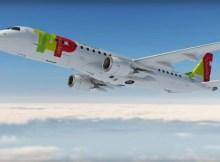 Embraer 190 in den Farben der TAP Express (© TAP)