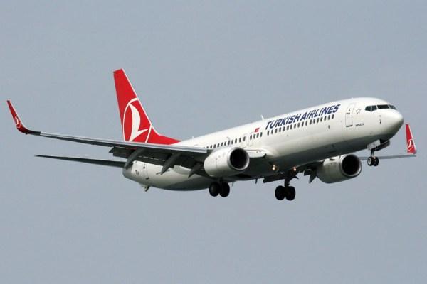 Boeing 737-900ER der Turkish Airlines (GFDL 1.2 A. Ates)
