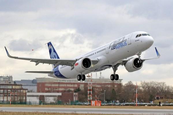 Airbus A321neo mit CFM LEAP-1A-Triebwerken (© Airbus)