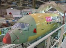 A350-1000 XWB in der Endmontage (© Airbus)