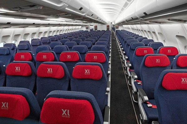 A330-Kabine mit XL Seats (© Air Berlin)