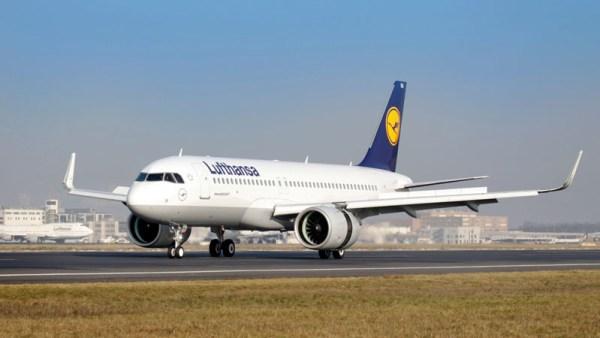 Airbus A320neo der Lufthansa (© Fraport)