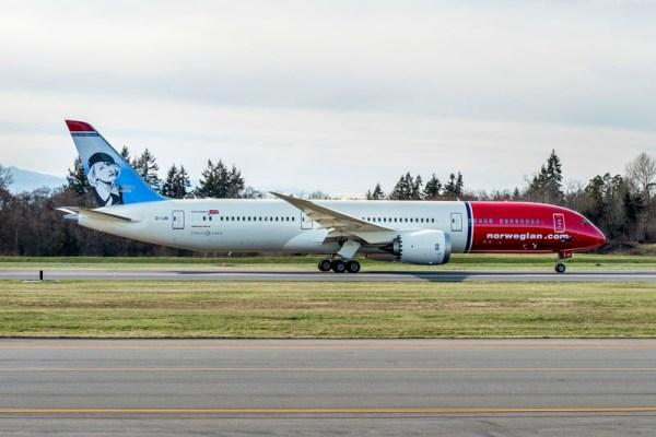 Norwegian Boeing 787-9 (© Boeing)