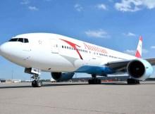 Austrian Airlines Boeing 777-200 (© AUA)