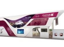 Neuer Stand der Qatar Airways auf der ITB (© Qatar Airways)