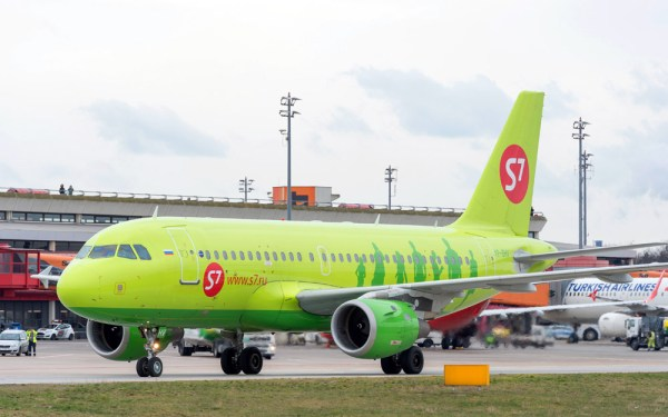 Airbus A319 der S7 Airlines (© FBB)