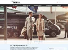 Website der Vienna Airport Handling