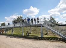 Kostenlose Aussichtsplattform an der Landebahn Nordwest (© Fraport)