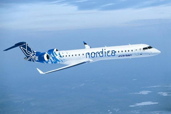 Nordica Bombardier CRJ900 (© Nordica)