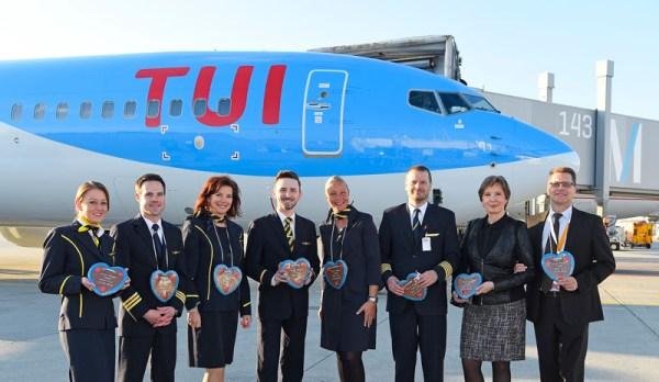 TUI-Erstflug nach Tel Aviv ab München (© FMG)