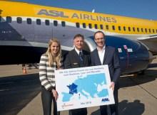 Eröffnung der neuen ASL Airlines-Routen (© HAM Airport)
