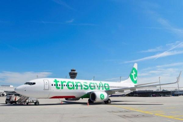 Transavia Boeing 737-800 am Flughafen München (© Transavia)