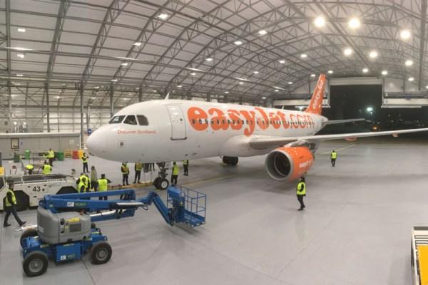 Zusammenarbeit am Gatwick Airport (© Lufthansa Technik)