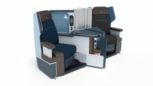 World Business Class bei KLM