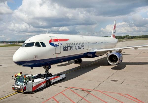 Airbus A321 der British Airways (© M. Penner, HAM Airport)