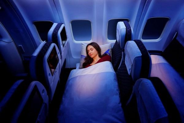 Economy Sleeper Class (© Air Astana)