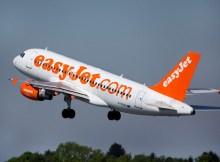 Airbus A319 der easyJet (© HAM Airport)