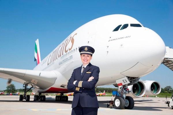 Angelika Barufke, Emirates A380 Fleet First Officer (© Emirates)