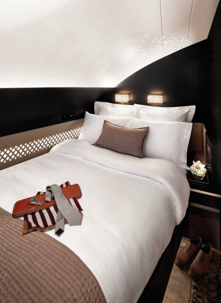 Etihad Airways A380 - The Residence Schlafzimmer