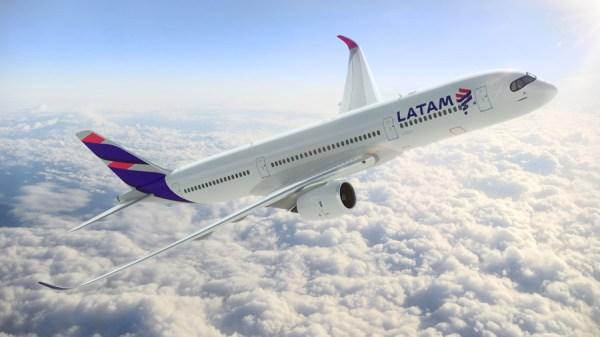 LATAM Airbus A350 XWB (© LATAM)