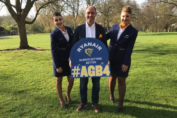 """Ryanair präsentiert """"Always Getting Better""""-Programm für das 4. Jahr"""