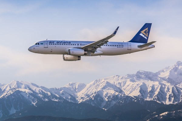 Air Astana Airbus A320 (Foto: Air Astana)