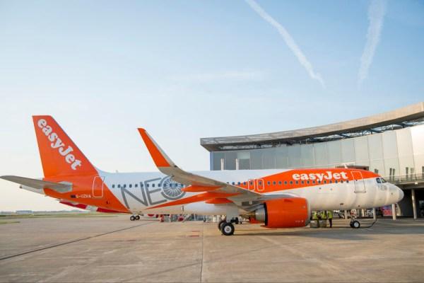 Erste A320neo für easyJet (© Airbus)