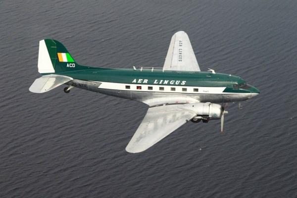 Douglas DC-3 in Aer-Lingus-Bemalung (© F. Grealish)