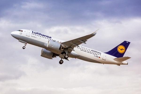 Start eines Airbus A320neo der Lufthansa (© LH)