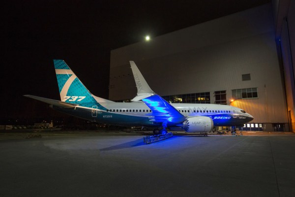 MAX 7 Roll-out (© Boeing)