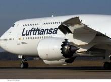 Boeing 747-8 der Lufthansa (© O. Pritzkow)