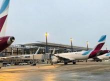 Eurowings am Flughafen Berlin-Brandenburg BER (Foto: Eurowings)