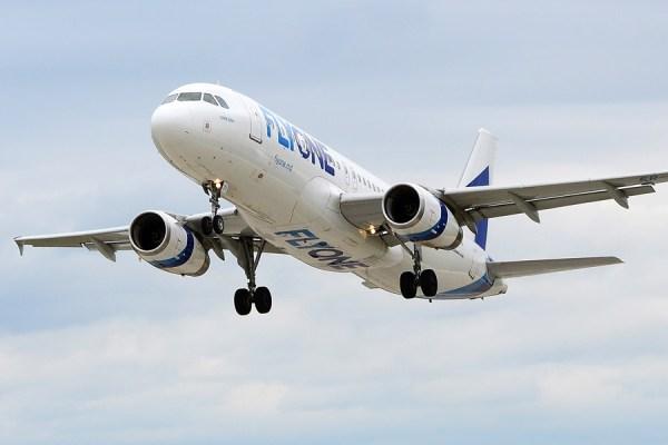 Airbus A320 der FLYONE (Foto: Flyone)