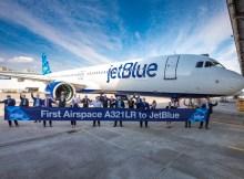Übergabe des ersten A321LR an Jetblue am 29.4.2021 (Foto: Airbus)