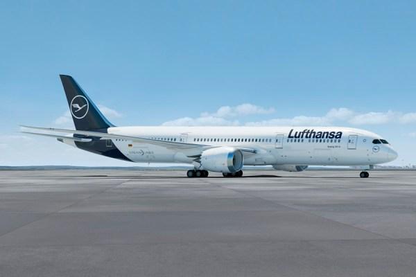 Boeing 787 im Lufthansa-Look (Grafik: LH)