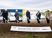 Spatenstich für den Skylog-Park Vienna (Foto: Flughafen Wien AG)